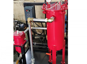 Installations of Industrial Oil Filtration - Two Stage Trolley
