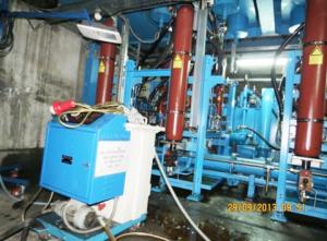 Electrostatic Oil Cleaning Macine