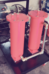 Two Stage Oil Filtration System